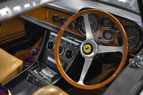 And that's a proper interior – more wood and leather than a British politician's office.