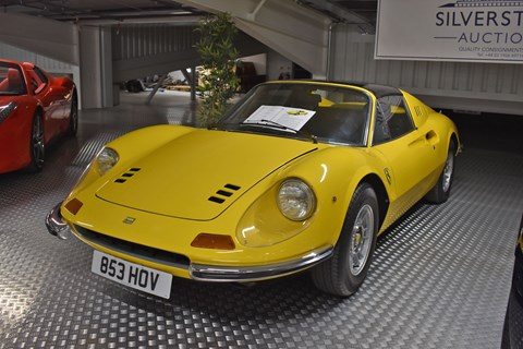 For many years this wasn't officially labelled a Ferrari. Enzo wanted a sub-brand to take on Porsche, and called it Dino, after his late son. British dealers often sold it with Ferrari badges, and it's now been widely accepted as one of the finest Ferraris ever made