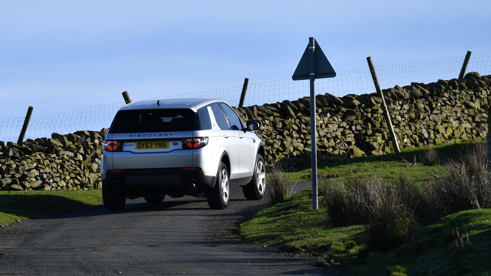 Land Rover Discovery Sport 2017 rear cornering