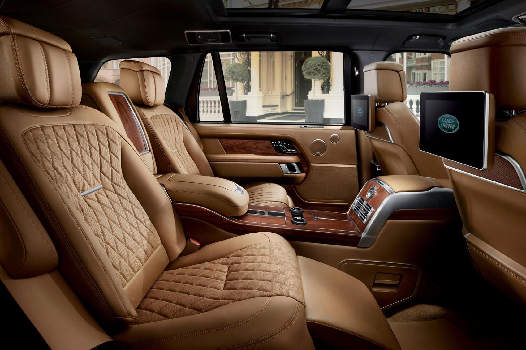Smug Utility Vehicle 2018 Range Rover SVAutobiography Revealed