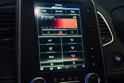 Renault Scenic infotainment