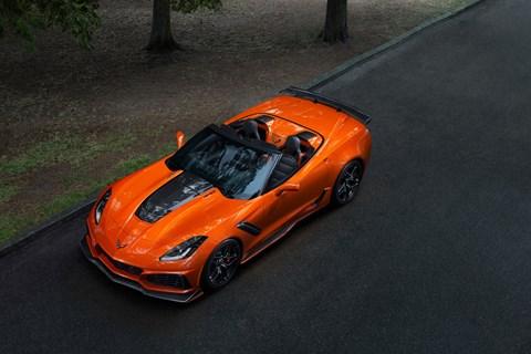 Corvette ZR1 overhead