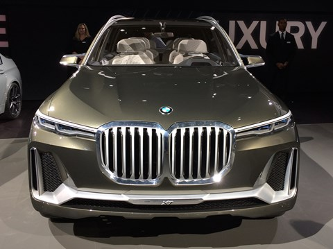 The BMW Concept X7 iPerformance: a big gob
