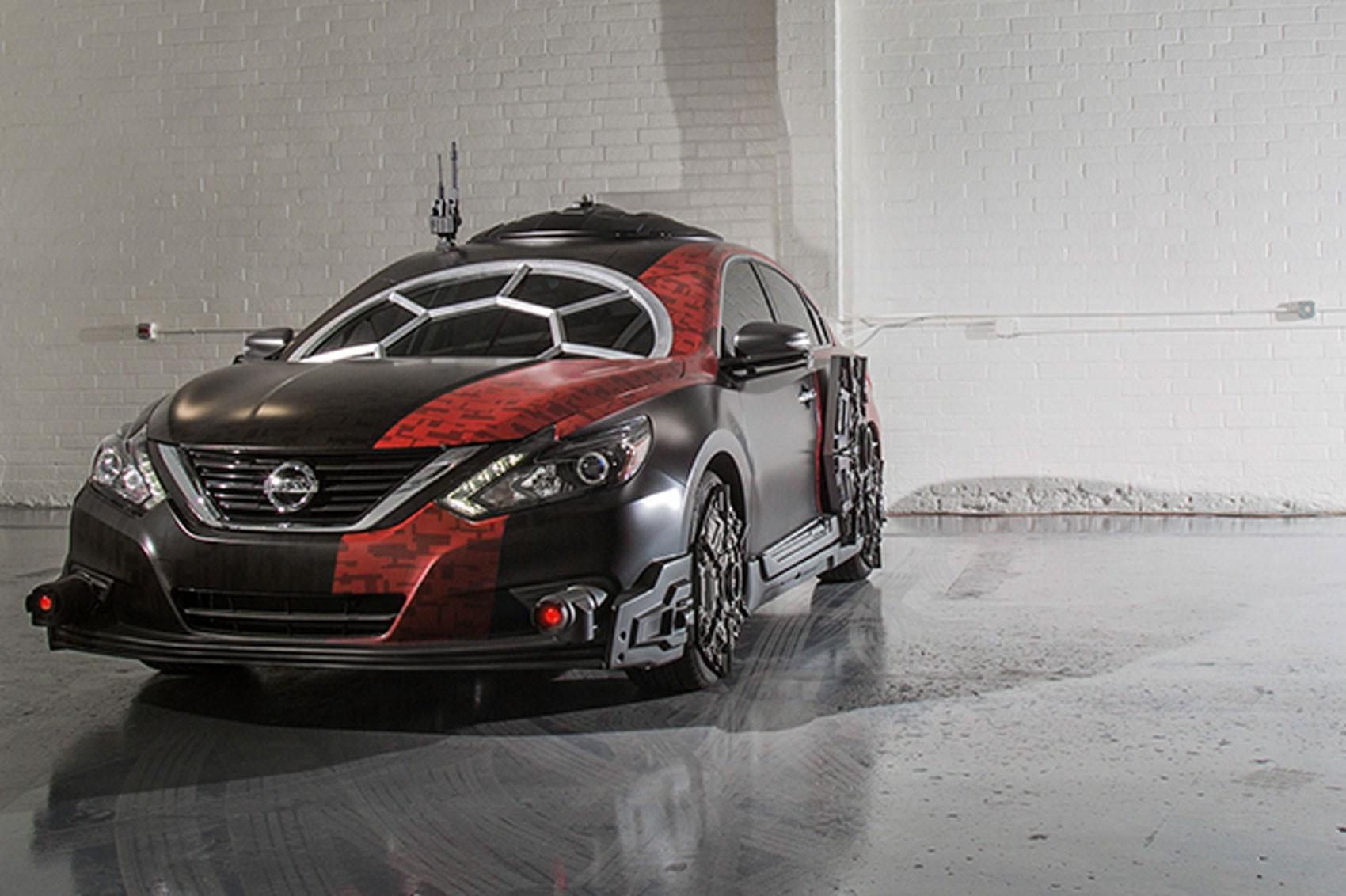 Car Wars: Gallery: Nissan's Bizarre Star Wars Tribute Cars At 2017