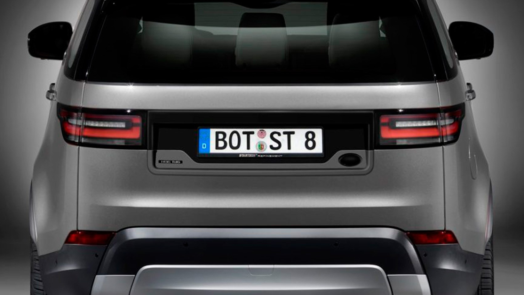 Startech Will Fix Your New Discovery S Offset Number Plate Car