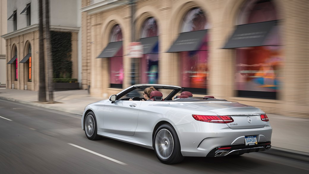 The New 2018 Mercedes Benz S Cl Cabriolet
