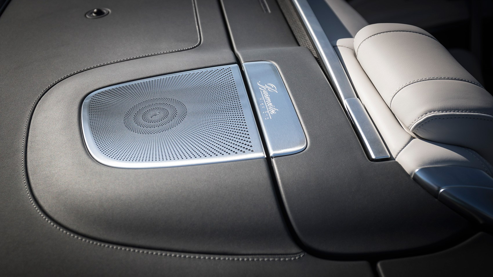 Burmeister stereo available on Merc S-class convertible. Prices from £116k