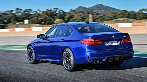 bmw m5 (2018) review by car magazine