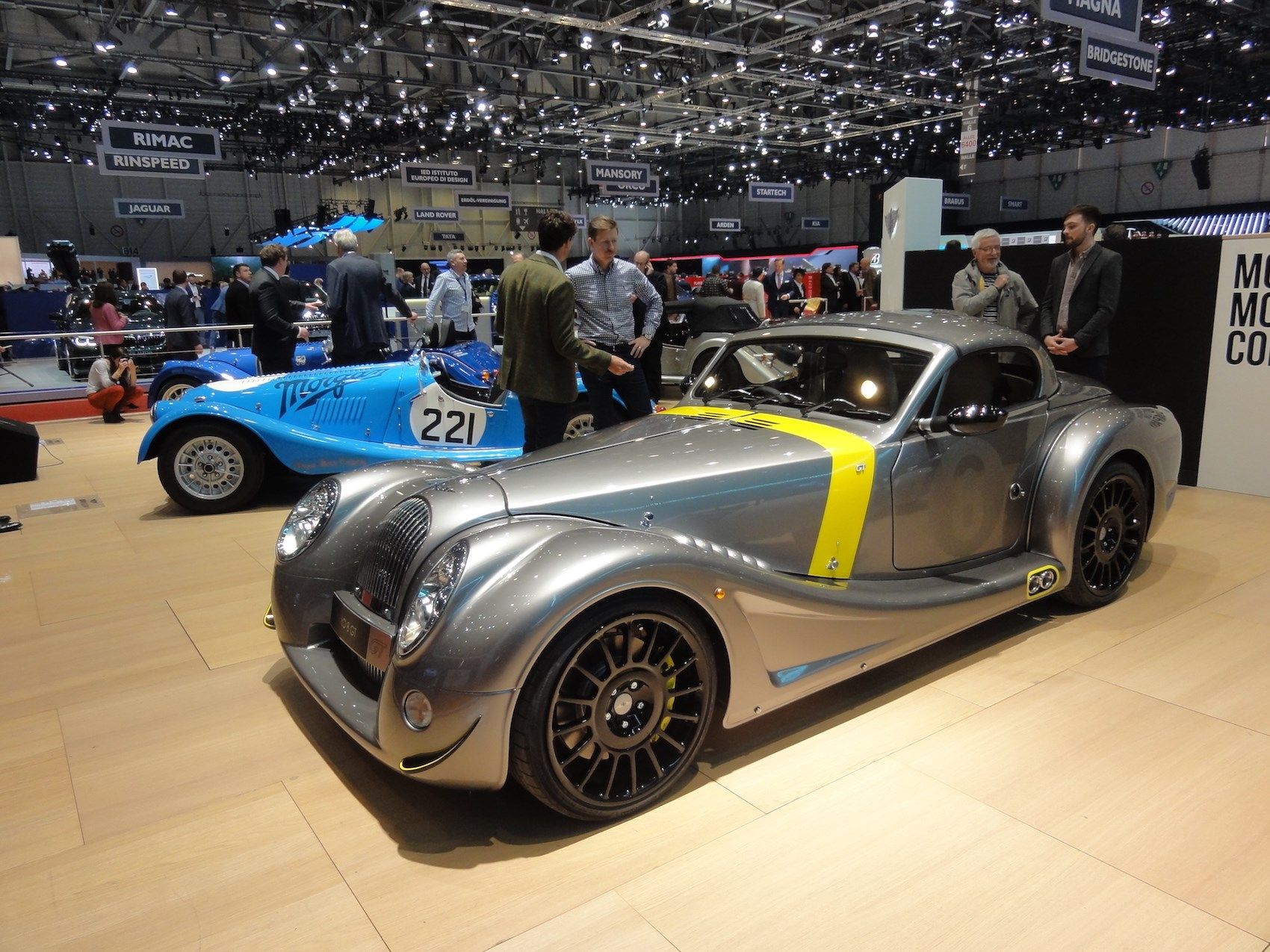 Morgan Aero GT and Plus 8 50th Anniversary specs prices pictures