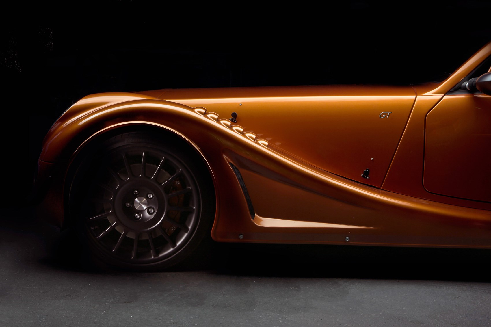 First of Morgan's racy Aero GT sports cars is very ...
