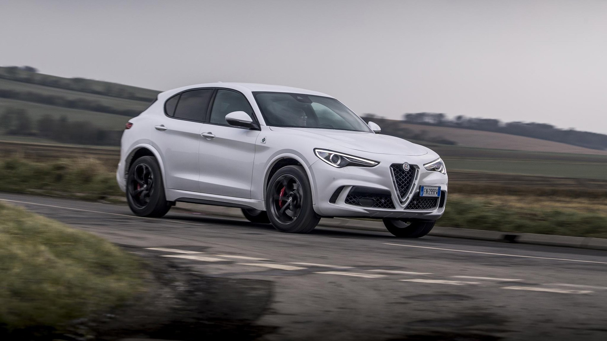 Infiniti Lease Deals >> Alfa Romeo Stelvio Quadrifoglio (2018) review: a mixed bag ...