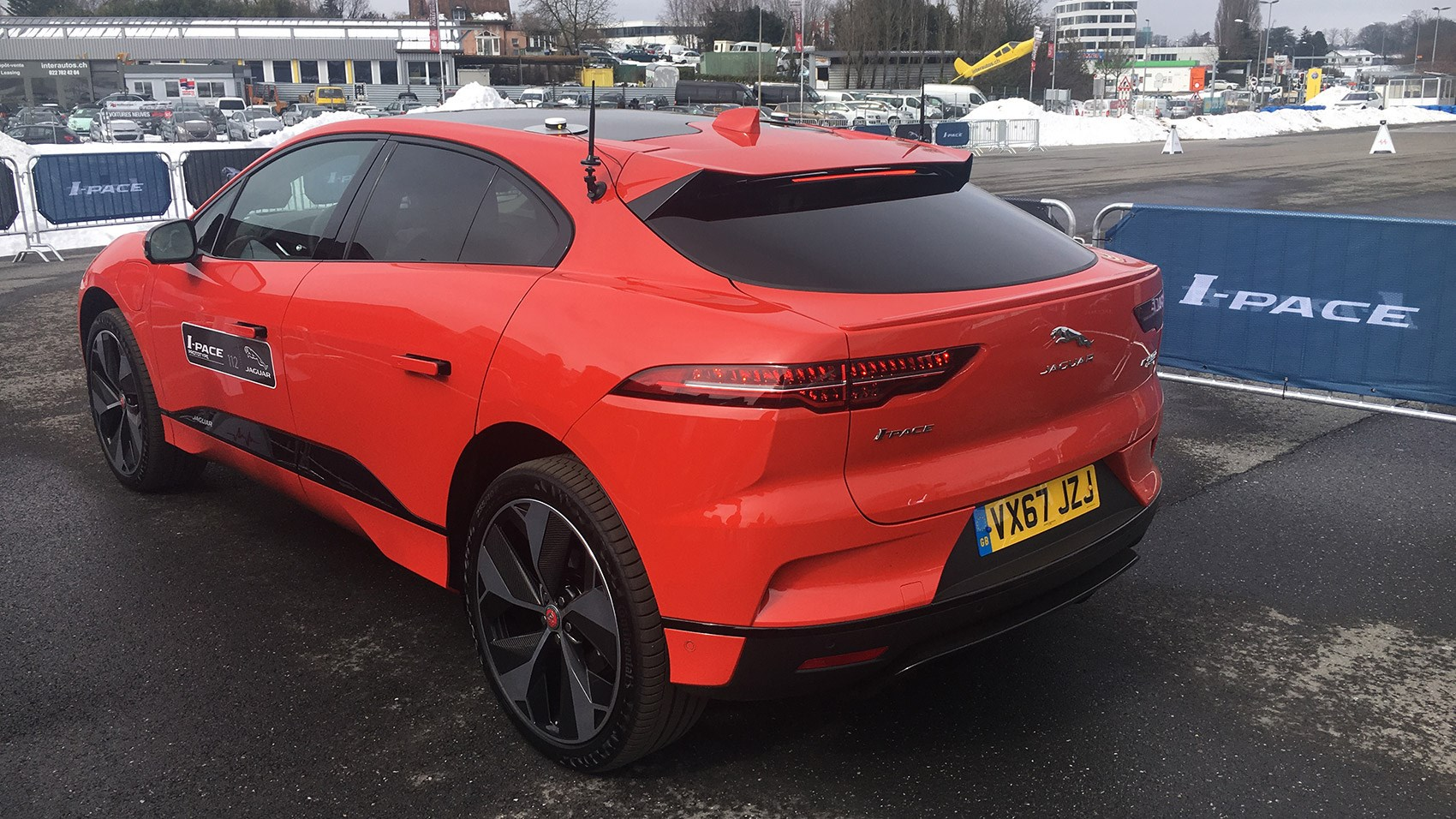 Jaguar i-Pace: a brief drive at the Geneva motor show