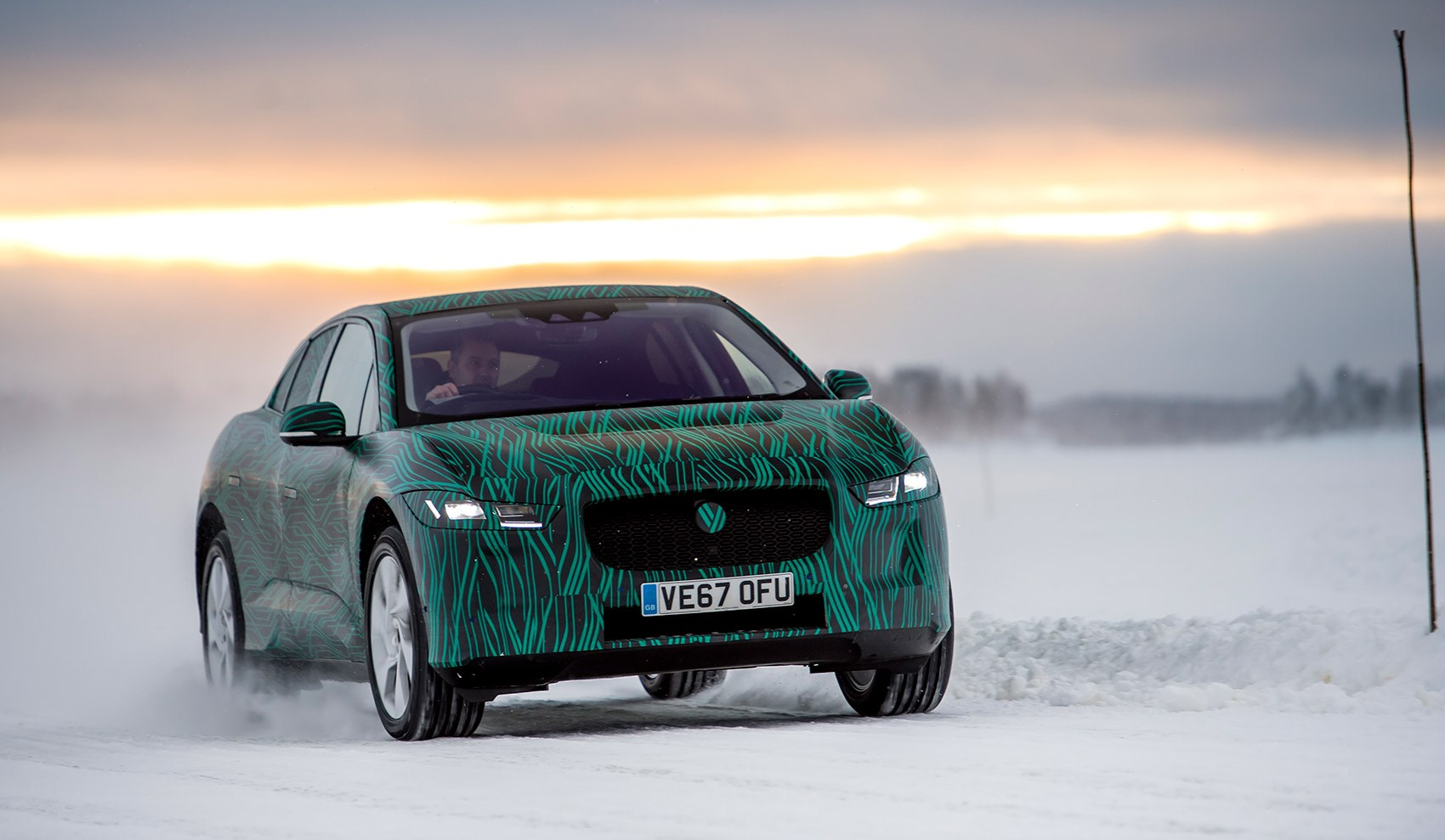 Jaguar i-Pace in the Arctic