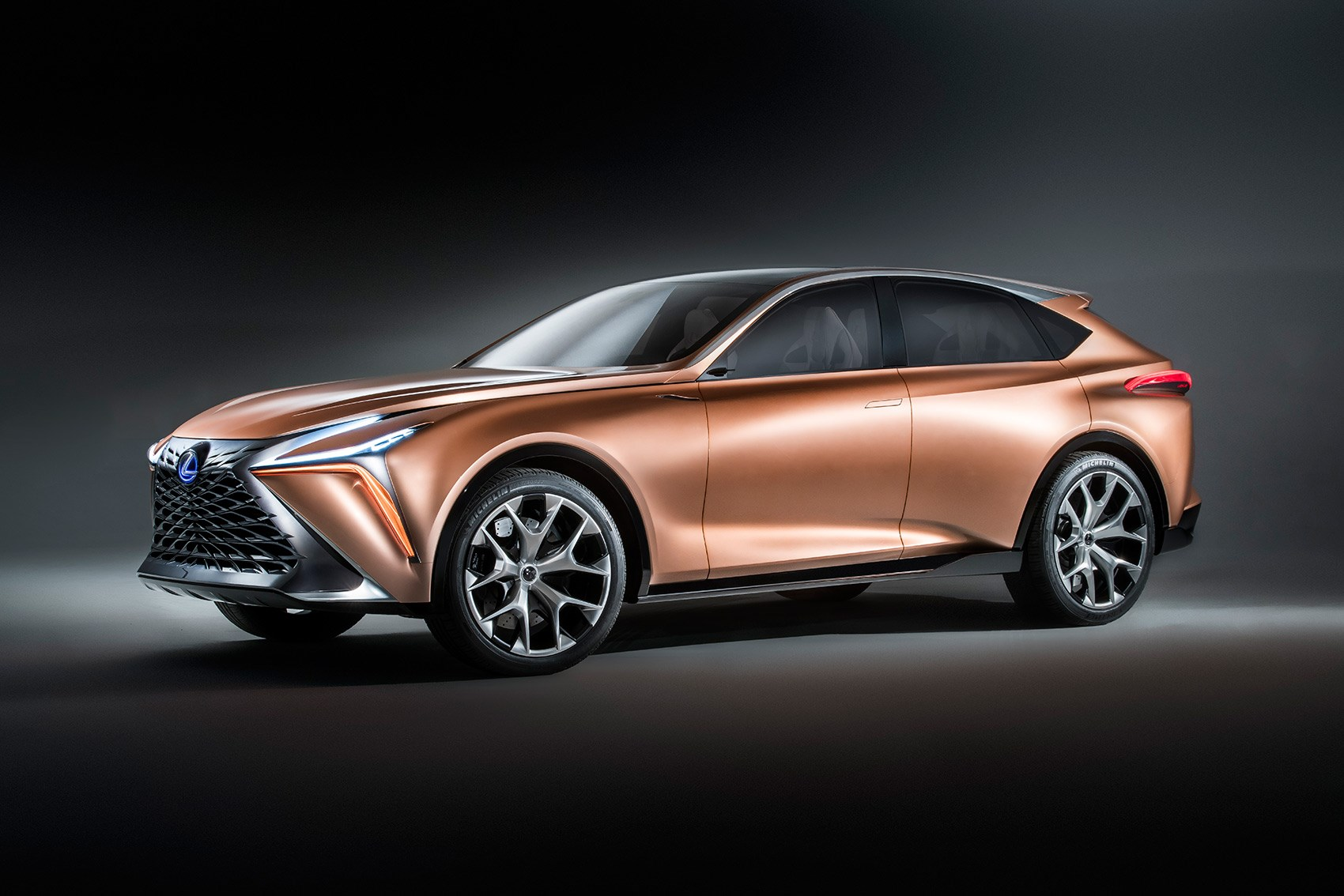 The New Lexus Lf 1 Limitless Concept Car At Detroit 2018