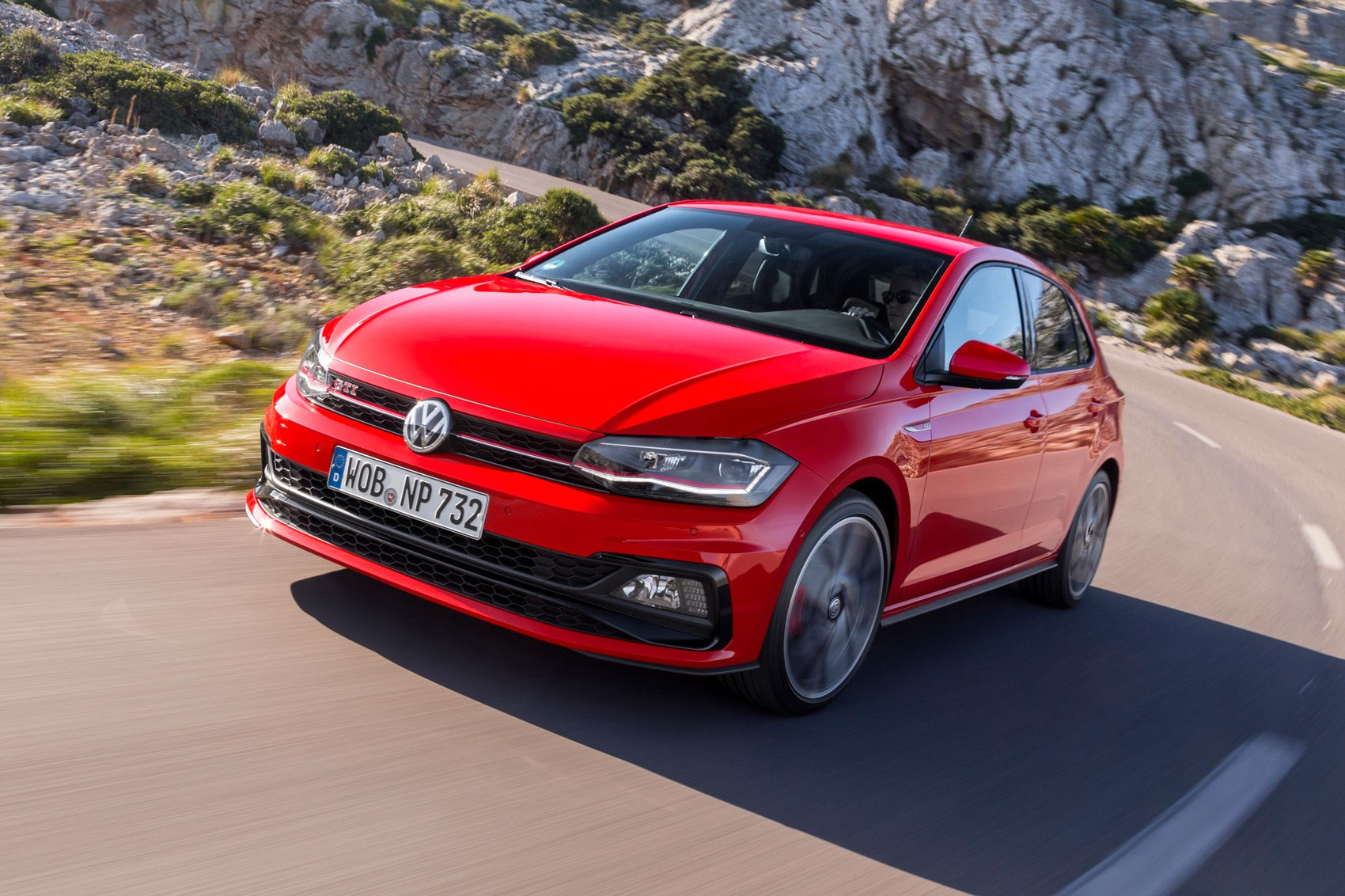 vw polo gti 2018 review by car magazine. Black Bedroom Furniture Sets. Home Design Ideas