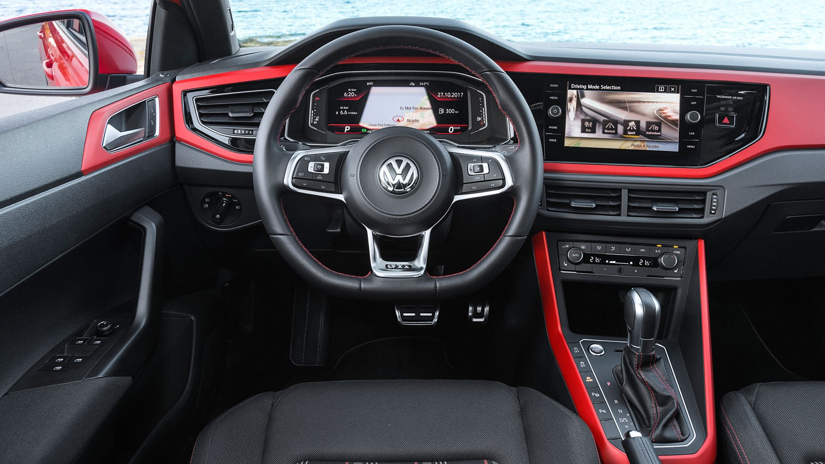 Interior Of New 2018 Vw Polo Gti