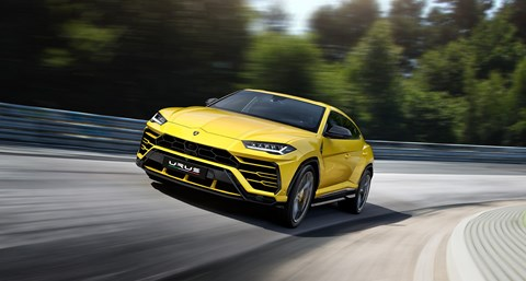 Lamborghini Urus: bidding to set the new Nurburgring lap record at the Nordschleife for SUVs