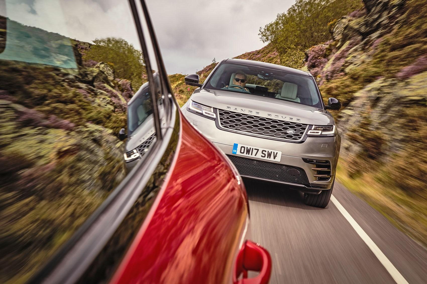 Range Rover Velar vs Porsche Macan GTS (2017) twin test