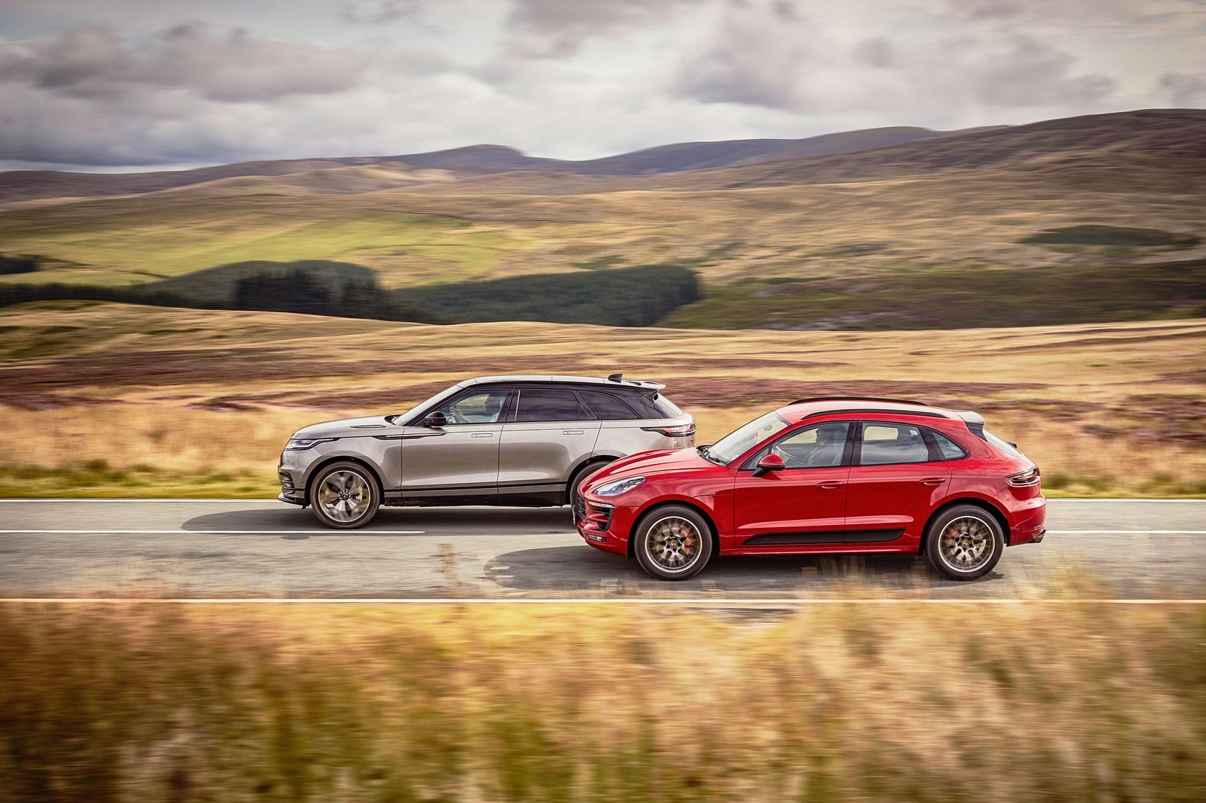 Range Rover Velar Vs Porsche Macan Gts 2017 Twin Test