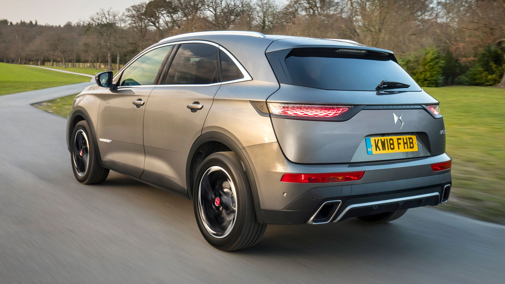 DS7 Crossback rear tracking