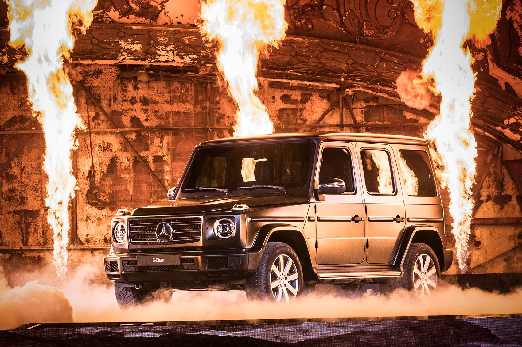Mercedes G Class 2018 Pictures Specs And Info Car Magazine