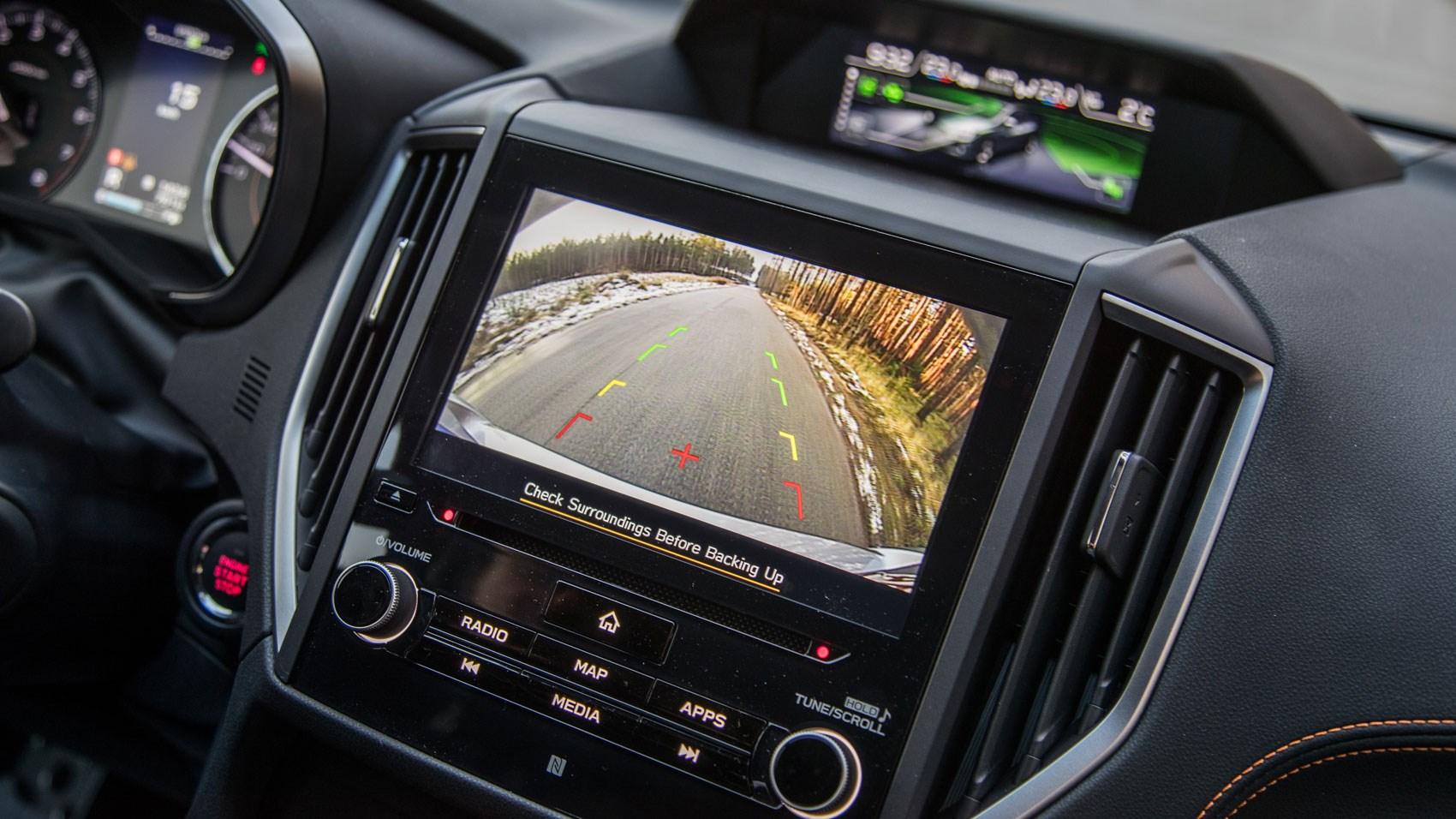 Subaru XV rear camera