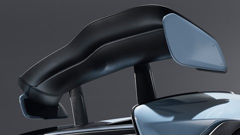 McLaren Senna rear wing
