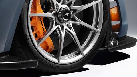 McLaren Senna wheel