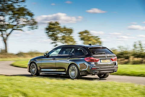 BMW 5-series Touring review