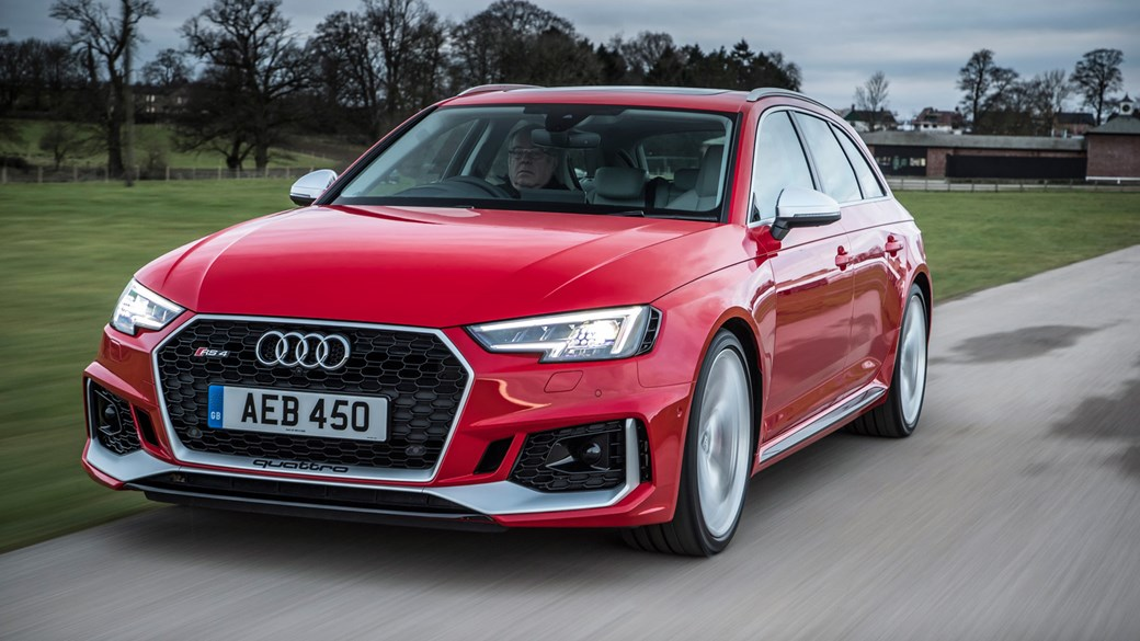 new audi rs4 avant (2018) review rs5 thrills, with added 02 A6 new 2018 audi rs4 performance specs 4 1sec 0 62mph, 155mph top speed