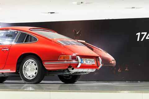 Porsche 901: star of the 911 (901 No. 57) – A legend takes off exhibition