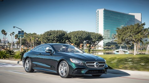 Mercedes S Class Coupe 2018 Review Car Magazine