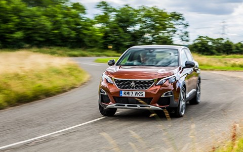 Anthony ffrench-Constant and his Peugeot 3008