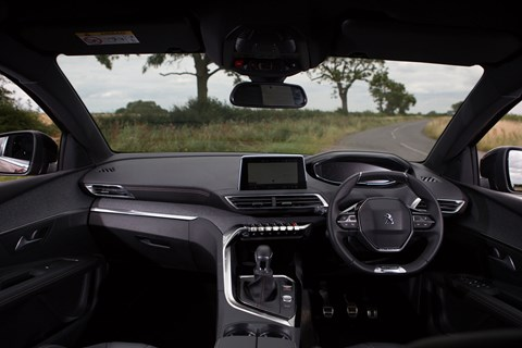 Peugeot 3008 long term interior