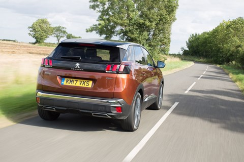 Peugeot 3008 long term rear tracking
