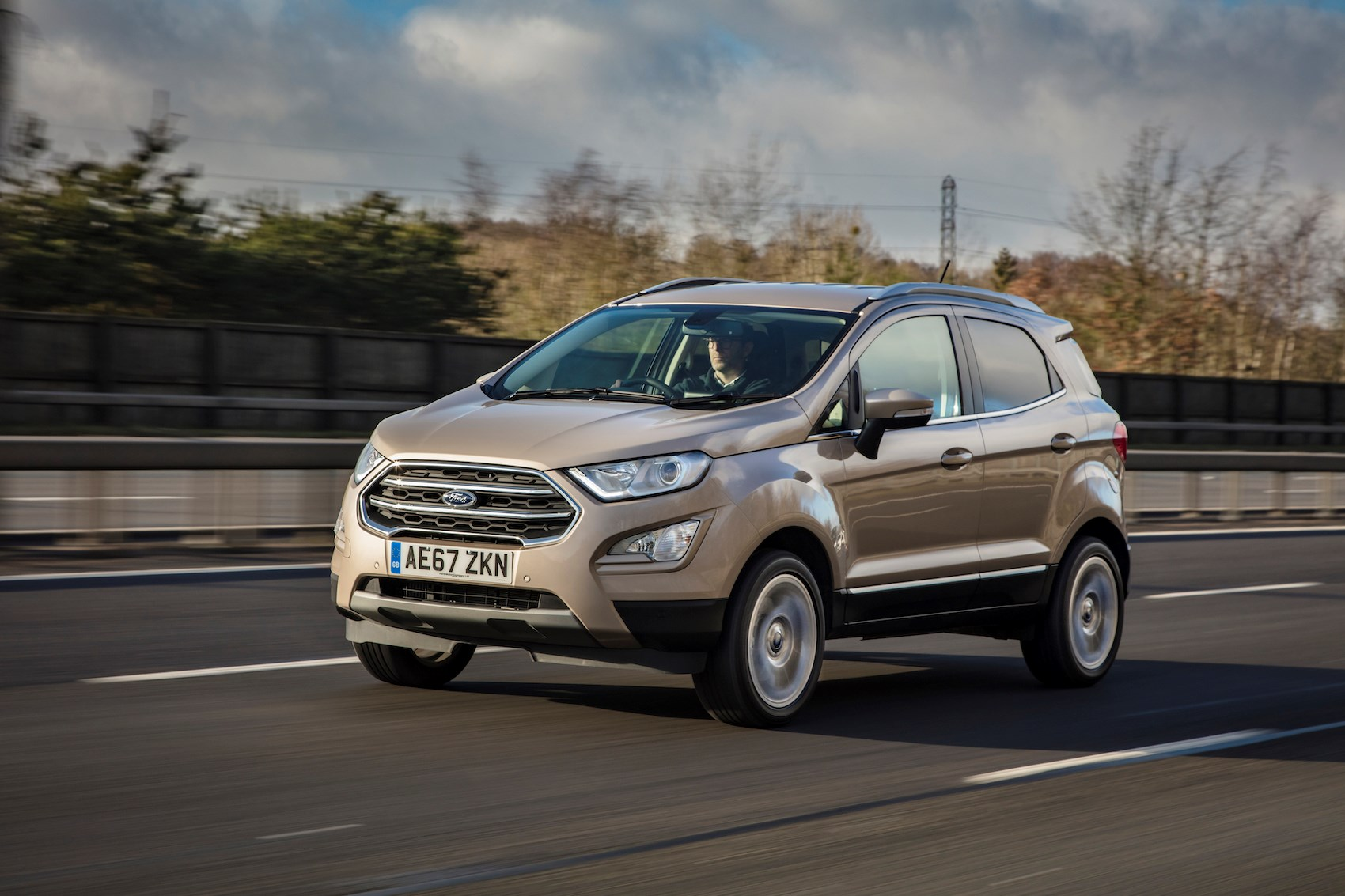 New ford ecosport drive