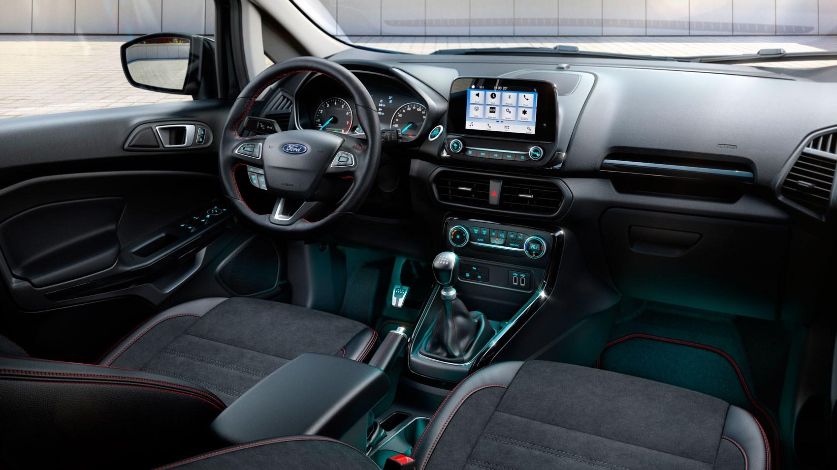 Ford EcoSport interior