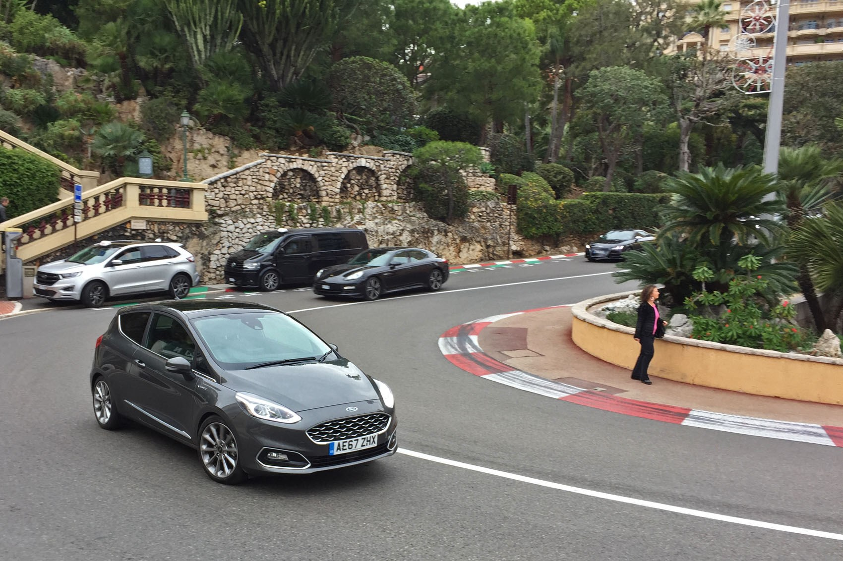 Ford Fiesta Vignale Decent Handling To Take On The Monaco Grand Prix Circuit