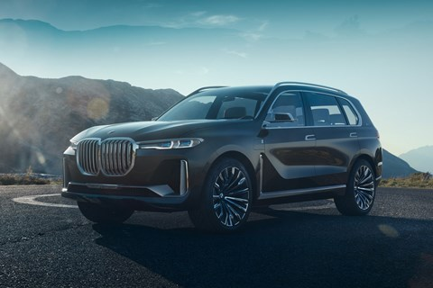 The BMW Concept X7 iPerformance concept car