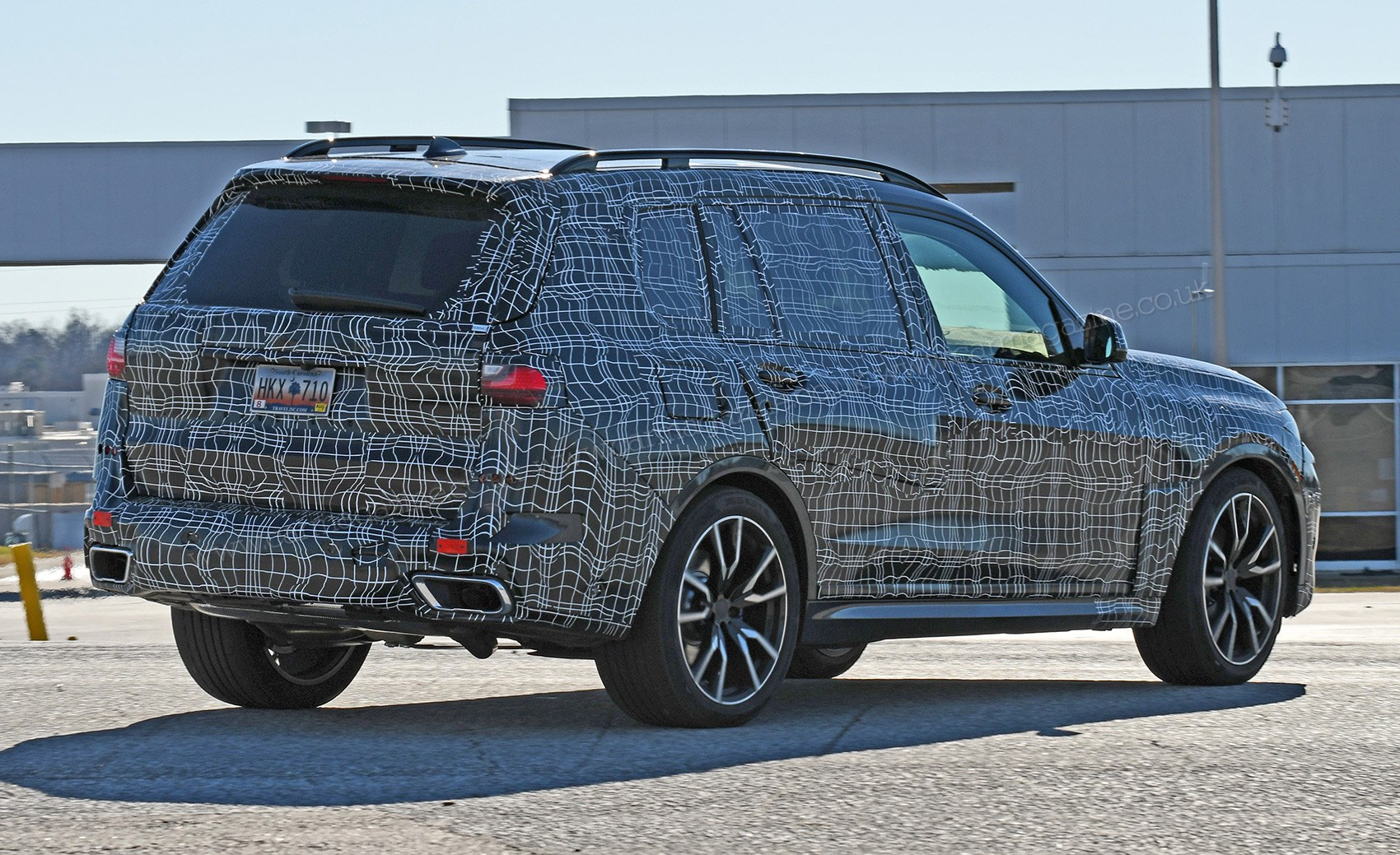 Coming Spied On Test Near The Bmw Spartanburg Factory In Us New X7 Out