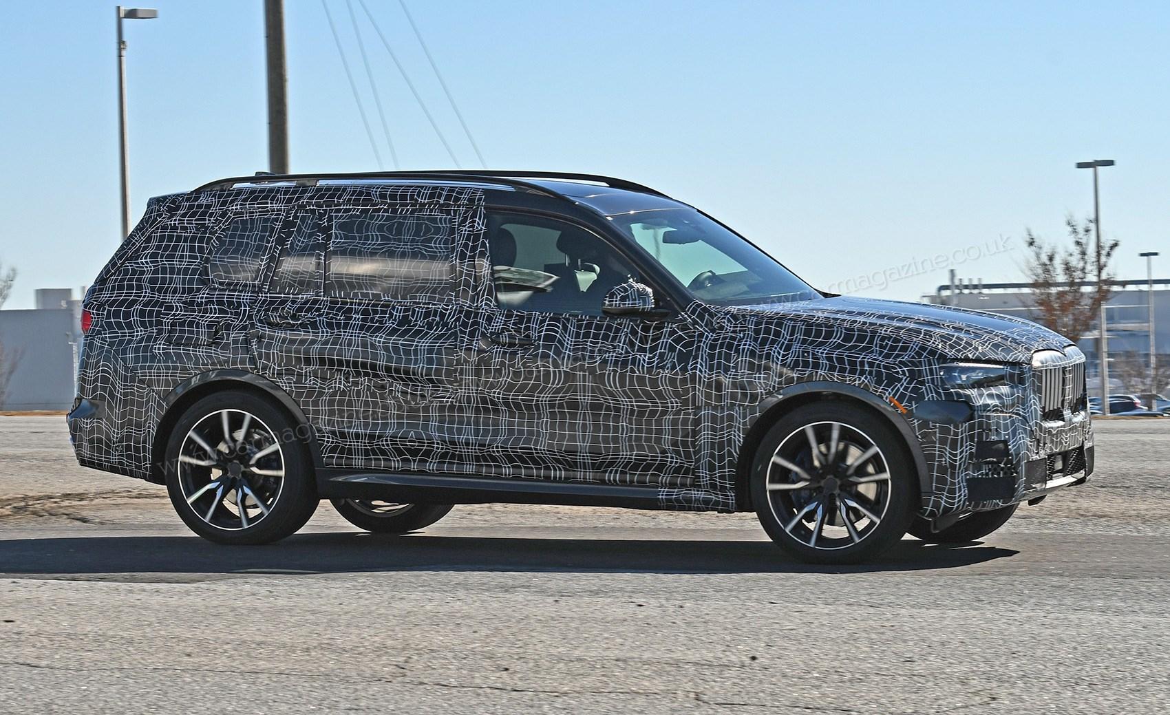 New BMW X7 (2019) spy photos, scoop info | CAR Magazine