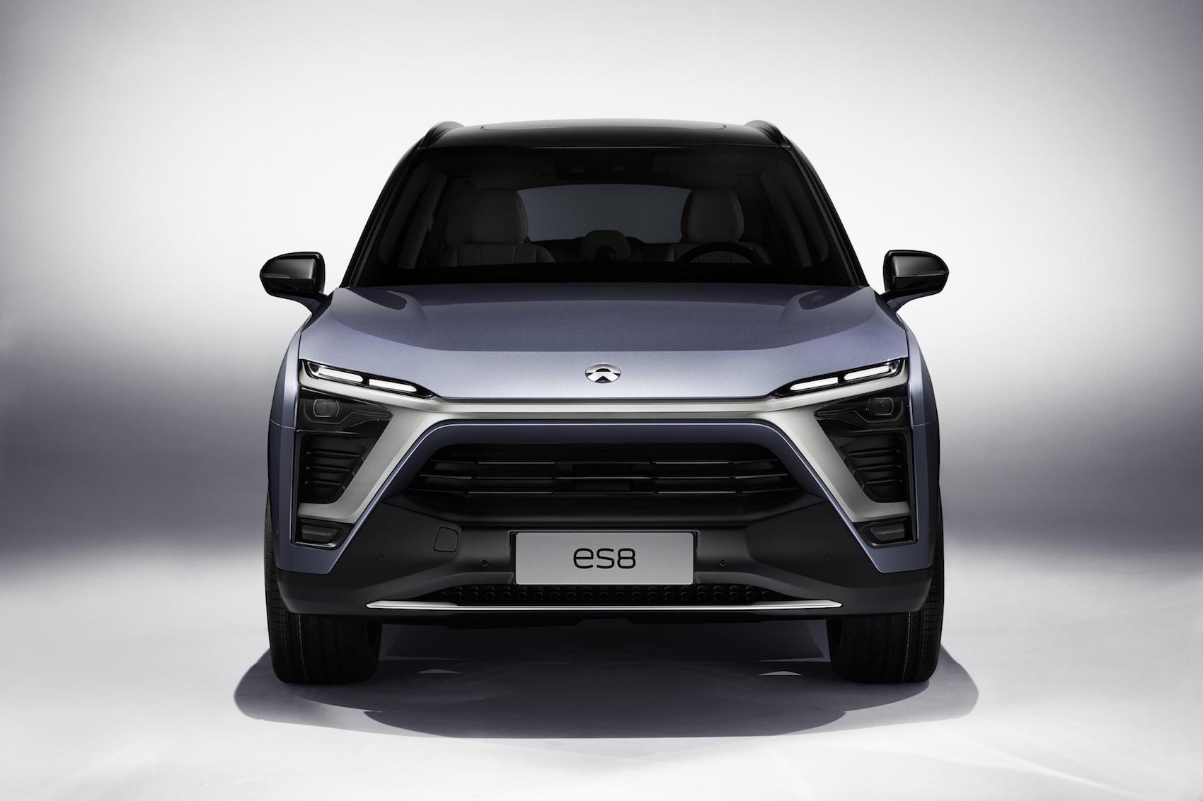 Nio Es8 Is A Model X Rival