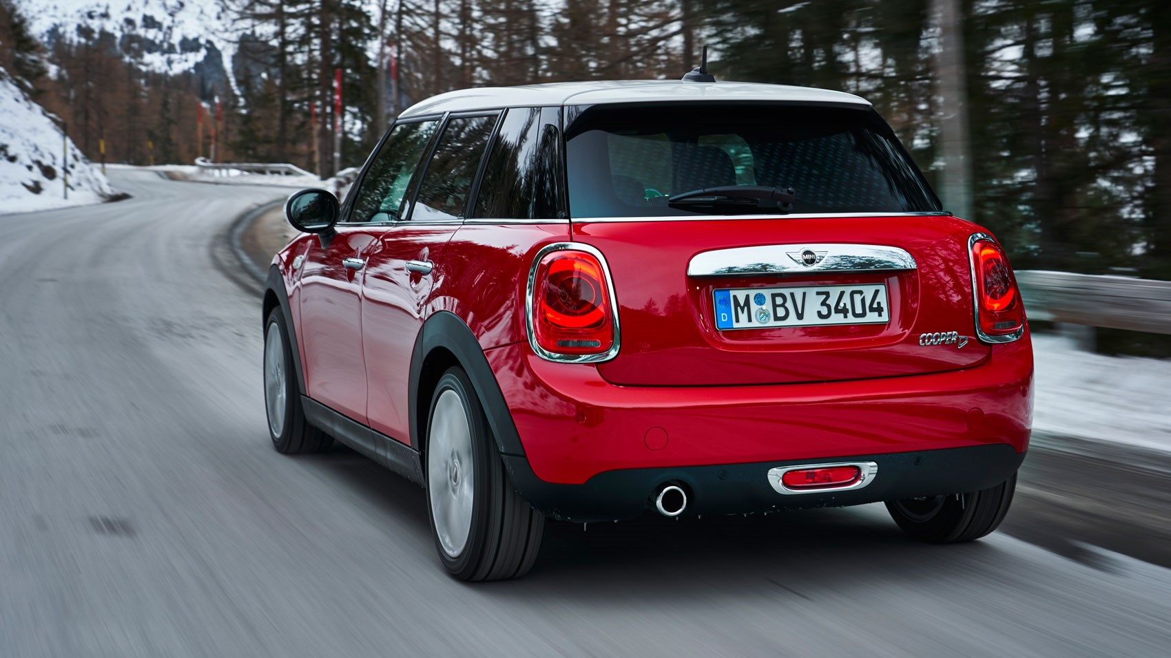Mini Cooper DCT rear tracking