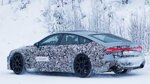 Audi Spy Shots Car Magazine