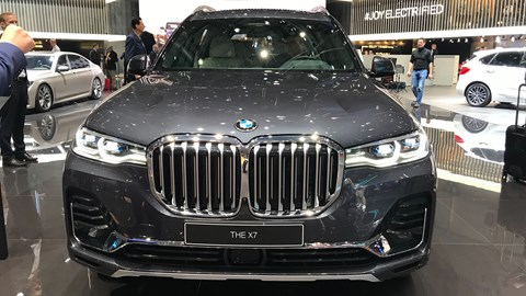 BMW X7 at Geneva 2019 - front view