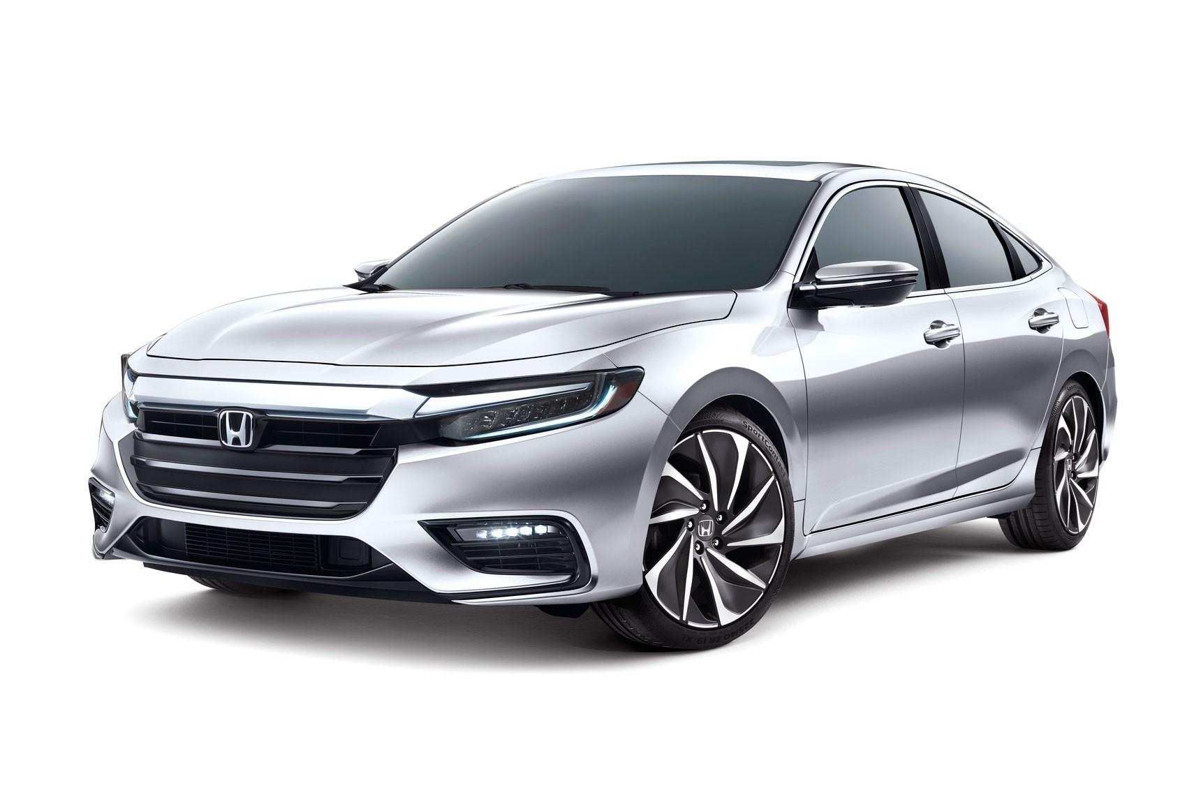 New Honda Insight Sleek Hybrid Prototype S Specs Detailed