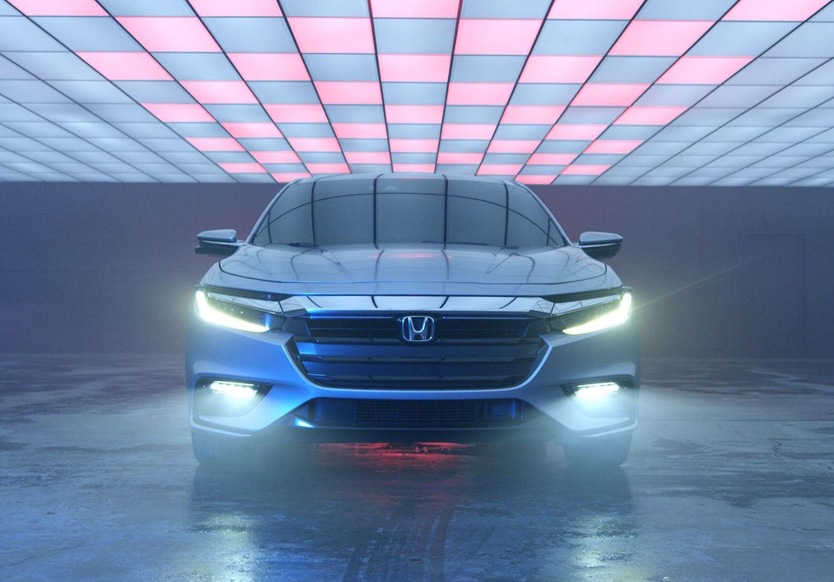 Bound Honda Insight Prototype Previews All-New 2019 Model