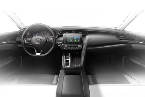 Honda Insight interior]