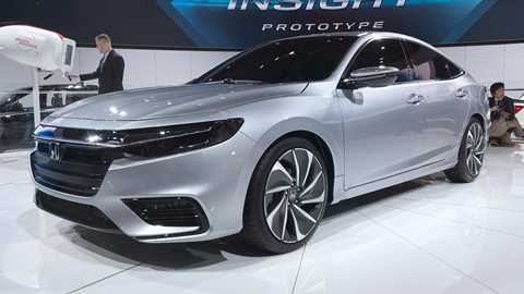 New Honda Insight Sleek Hybrid Prototypes Specs Detailed At NAIAS 2018