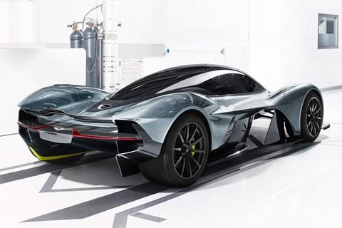 The Aston Martin Valkyrie
